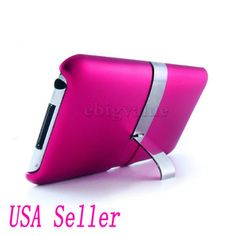 Magenta Stand Case Back Cover Kickstand for iPod Touch 2nd and 3rd Generation | eBay