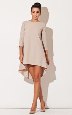 This beige long back dress is the perfect shade to bring out all your beauty in day or night light!
