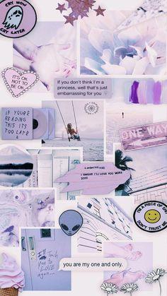 Wallpaper Sky, Purple Wallpaper Iphone, Iphone Wallpaper Tumblr Aesthetic, Iphone Background Wallpaper, Retro Wallpaper, Aesthetic Pastel Wallpaper, Trendy Wallpaper, Blue Wallpapers, Tumblr Wallpaper