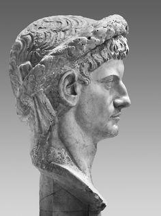 https://flic.kr/p/oC7PNt   Claudius   Colossal head of Claudius recut from Caligula. Vatican Inv. 242.  Found in excavations of Ocriculum around 1780.