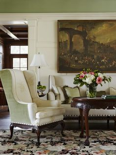 An English Inspired East Hampton Home By Jack Fhillips. Decorating Living  RoomsLiving Room DesignsLiving ...