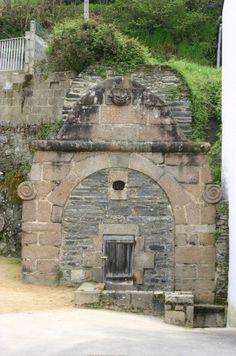 Morlaix, la Fontaine des Anglais, Eure