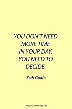 Productivity Quotes | Motivational Quotes | Inspirational Quotes | http://ProductiveandFree.com