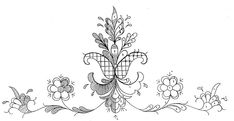 Folk Embroidery, Embroidery Patterns, Embroidery Dress, Bridal Crown, Tole Painting, Going Out Of Business, Sewing Hacks, Needlepoint, Line Art