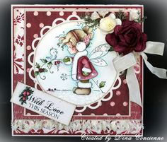 Dena's Stamping Corner: Whimsey Stamps Magazine Card & Project