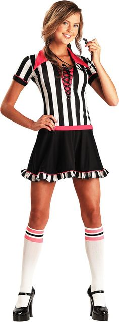 Teen Girls Racy Referee Costume - Party City