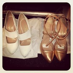 Pretty Mary Janes and strappy heels at Jill Stuart. #NYFW