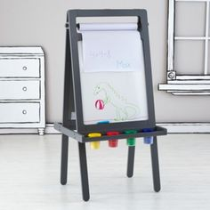 Artist's Portrait Easel, that's a chalkboard when there's no paper on it!  | The Land of Nod