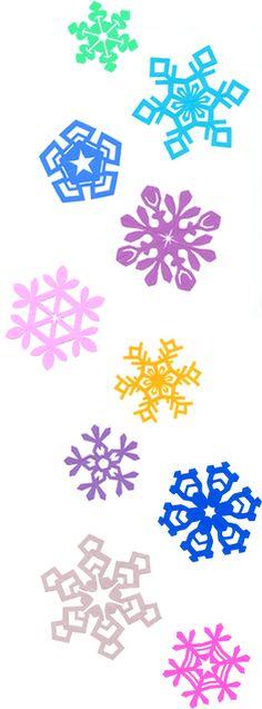 snow.  Japanese Kirigami Art By Syandery.    Kirigami Blog. http://blogs.yahoo.co.jp/syanderi