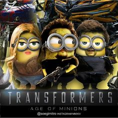 Special Edition: Transformers Age of Minions By Soegimitro Cute Minions, My Minion, Minions 2014, Funny Minion, Transformers Age, Firefly Serenity, Animation, How To Be Likeable, Wallpaper Pictures
