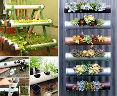 PVC Garden Planters