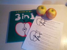 Holy Trinity Lesson Ideas with the book 3 in 1.  Apple
