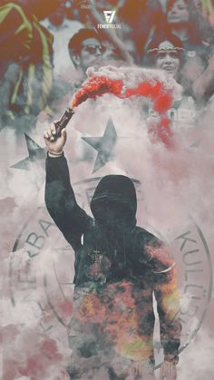 Proud of the kid you're a Fenerlisin duy # football Smoke Wallpaper, Phone Screen Wallpaper, Galaxy Wallpaper, Iphone Wallpaper, Smoke Pictures, Art Pictures, Ultras Football, Arte Punk, Smoke Bomb Photography