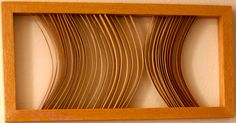 Wooden Wall Art Bent Wood Sculpture By Nicitto by NicittoDesign, $455.00