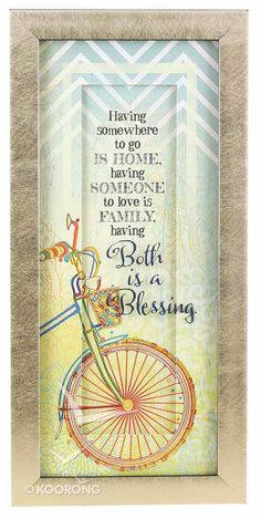 Buy Words of Grace Framed Plaque: Both Is a Blessing Online - Words of Grace Framed Plaque: Both Is a Blessing Plaque: ID 780308031752