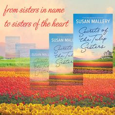 Read chapter one of SECRETS OF THE TULIP SISTERS #free at TulipSisters.com  #sisters #book #books #ebook #ebooks #bookclub #bookclubpick