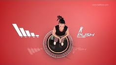 fitness trampolin übungen - YouTube