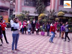 Students in line at NLC venue -2013, organized by AVAS India