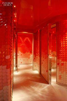 2012 Hall of Fame inductee Patrick Jouin's Sur Mesure par Thierry Marx restaurant in Paris' Mandarin Oriental hotel.