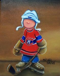champlain Hockey Drawing, Beauty And The Beast Tattoo, Easy Canvas Art, Red Hat Ladies, Happy Paintings, Bird Drawings, Tole Painting, Learn To Paint, Kids Cards
