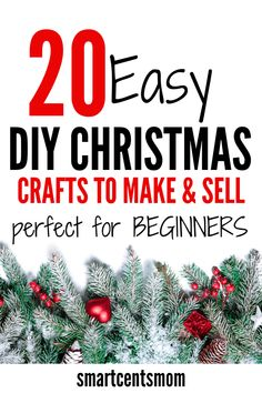 20 Easy Christmas Crafts to Make & Sell in 2019