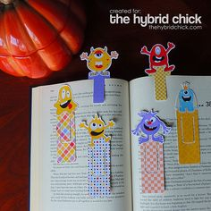 Trick or Treat Handouts: Quick and Easy Halloween Bookmarks – The Hybrid Chick