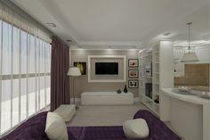 Design interior living apartament stil clasic de lux .Proiect design interior apartament 2 camere in Constanta. Design Interior, My House, Living, Curtains, Studio, Home Decor, Google, Houses, Interiors