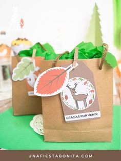 Etiquetas - KIT DE FIESTA - ANIMALITOS DEL BOSQUE Party Kit, Party In A Box, Party Packs, Wild One Birthday Party, Birthday Candy, First Birthday Parties, First Birthdays, Diy Party Decorations, Party Themes