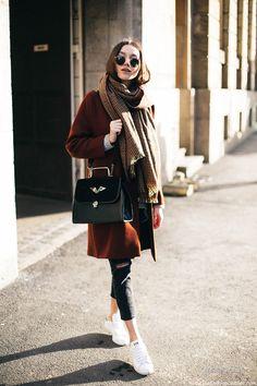 Уличная мода: Лучшие образы от модных блоггеров за неделю: Liz Cherkasova, Aimee Song, Juliett Kuczynska и другие
