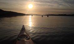 Kayaking in County Cork, Ireland: a glow in the dark adventure