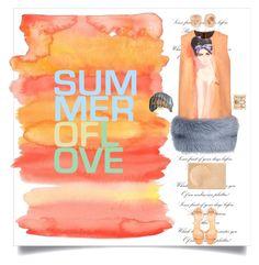 """Summer of Love"" by shoecraycray ❤ liked on Polyvore featuring Prada, ALEXA WAGNER, FerrariFirenze, Kimberly McDonald and Lee Savage"