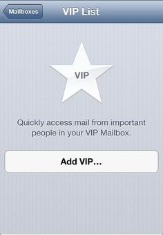 How to Setup VIP Contacts in Mail in iOS 6 that can have a special alert when received.  Awesome