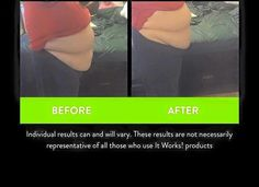 I had to share these AMAZING results!!  Rosa Sohn starting the system and used her 1 wrap from a box of 4 that comes with the system and I cannot believe my eyes  as to how much the wrap has helped on just the first day!! WOW!   #itworkssystem #plantbased #allnatural #
