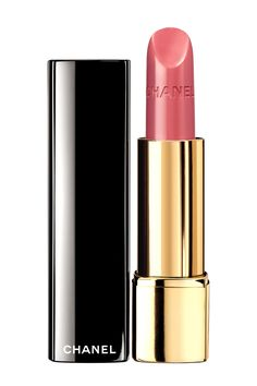 """This+is+the+perfect+subtle-but-saucy+pink."" Chanel+Rouge+Allure+Lipstick+in+Seduisante,+$35,+chanel.com.   - HarpersBAZAAR.com"