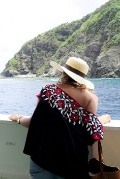 Love an off the shoulder number on holidays! http://apairandasparediy.com/2015/09/a-quick-guide-to-okinawa-japan.html
