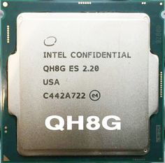 intel ES I7 6400T 2.2GHz QH8G Engineering version does not show models ES LGA 11511 CPU
