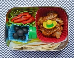 Make your own Fajitas - Leftovers on Fridays ~ Becoming A Bentoholic