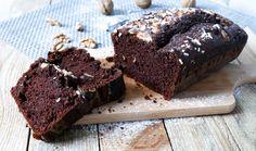 Plumcake cioccolato, noci e semi di chia