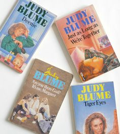 Judy Blume books - essential reading for teenagers?