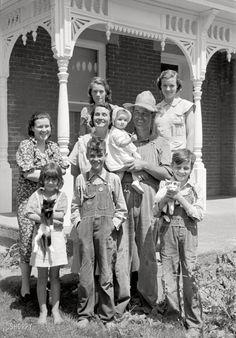old depression era farm clothes - FSA