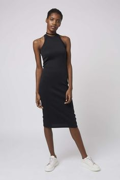 Racerback Bodycon Dress - Topshop