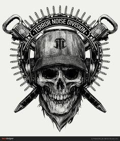 TERROR NOISE DIVISION, Иллюстрация © МихаилКовалёв