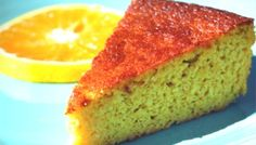 This Homemade Starbucks Orange Cake recipe is a delicious gluten free copycat recipe. You would never know this orange cake recipe is gluten free because it is insanely moist. The citrus flavors are scrumptious like the Starbucks version of the cake. Patisserie Sans Gluten, Dessert Sans Gluten, Paleo Dessert, Gluten Free Cakes, Gluten Free Baking, Gluten Free Desserts, Passover Desserts, Holiday Desserts, Real Food Recipes