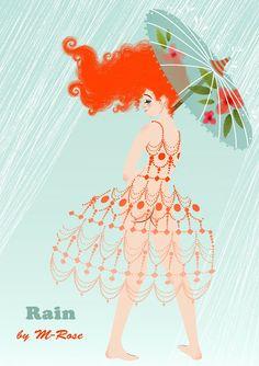 """Rain"" by Marie-Rose Boisson - Illustration"