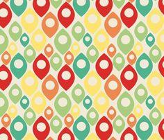retro pattern  suziedesign