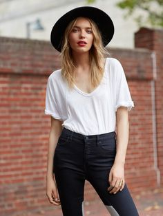 freepeople:  The Perfect Tee.