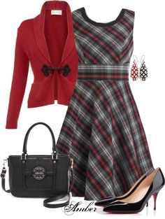 """Plaid"" by stay-at-home-mom on Polyvore"