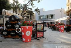 The area around Plaza de la Merced is great for restaurants. © Sophie Carefull