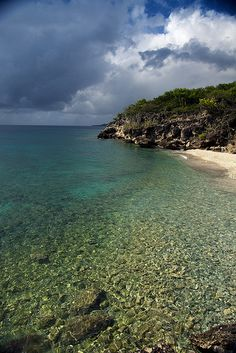 Curacao clear waters