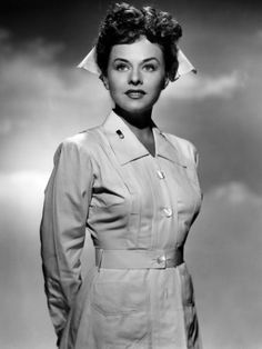 Image for the 1943 movie So Proudly We Hail. #vintage #nurse #uniform #movies #WW2